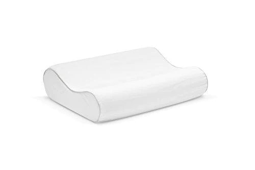 sleep innovations memory foam contour pillow with cotton cover made i you buy i ship