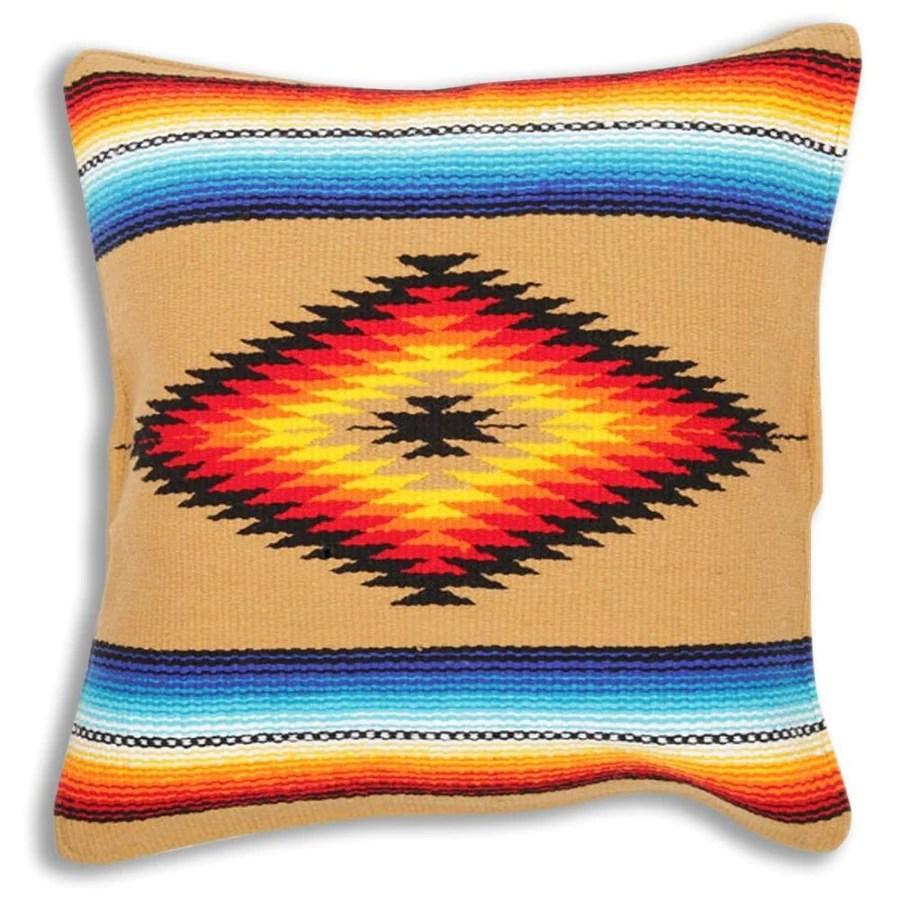 sarape cushion cover