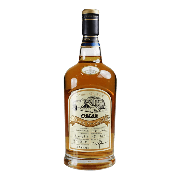 OMAR 原桶強度(波本桶59)    Omar Cask Strength Nantou Distillery Bourbon59 - 買 ...