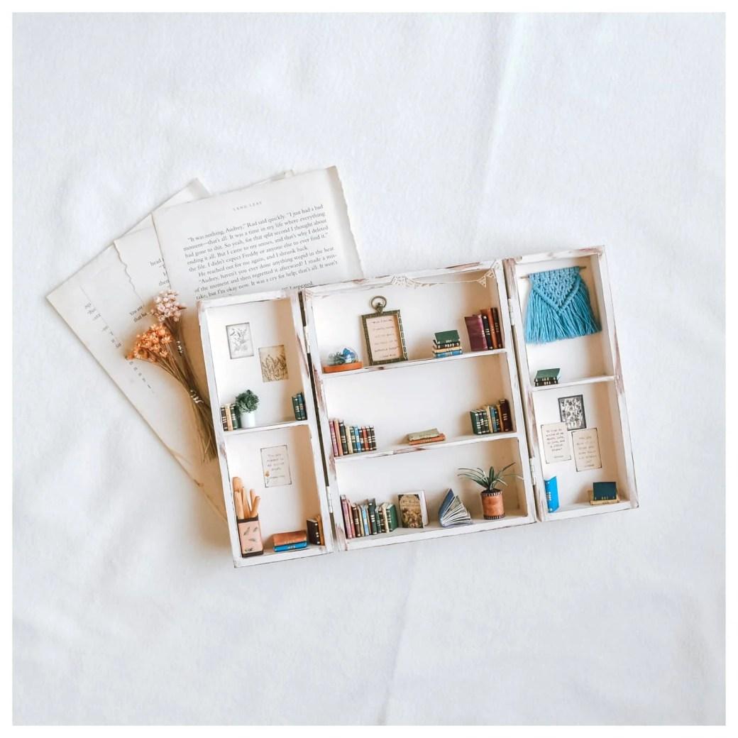 Handmade Open-able Bookshelf