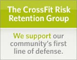 CrossFit RRG: We support our community's first line of defense.