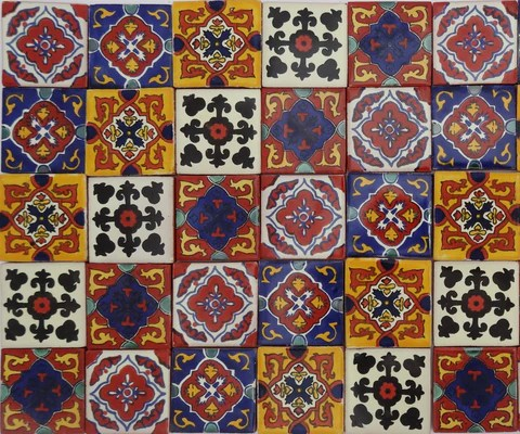 handmade authentic mexican tiles