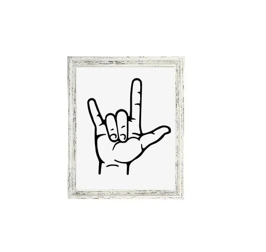 Download ASL Svg, American Sign Language SVG, Love Sign Svg,I Love ...