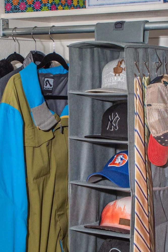 hat rack for baseball caps 10 shelf hanging hat organizer hat holder storage for closet