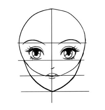 Comment Dessiner Les Visages Mangas Guide Pour Debutants Body Kun Figurine
