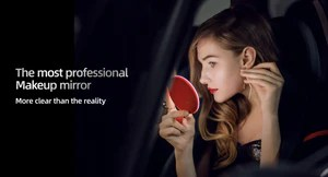 Mine Mirs Smart gesture mirror, small 8cm, Red color