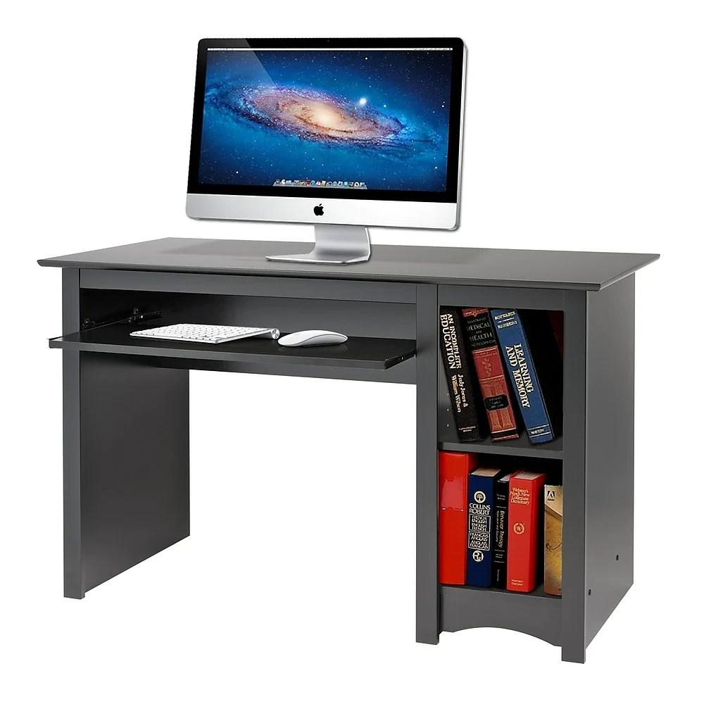 prepac bureau d ordinateur noir
