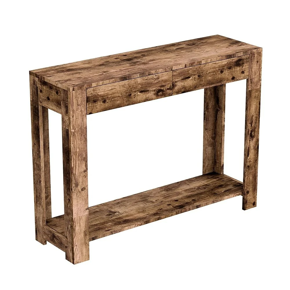safdie co 40l table console bois