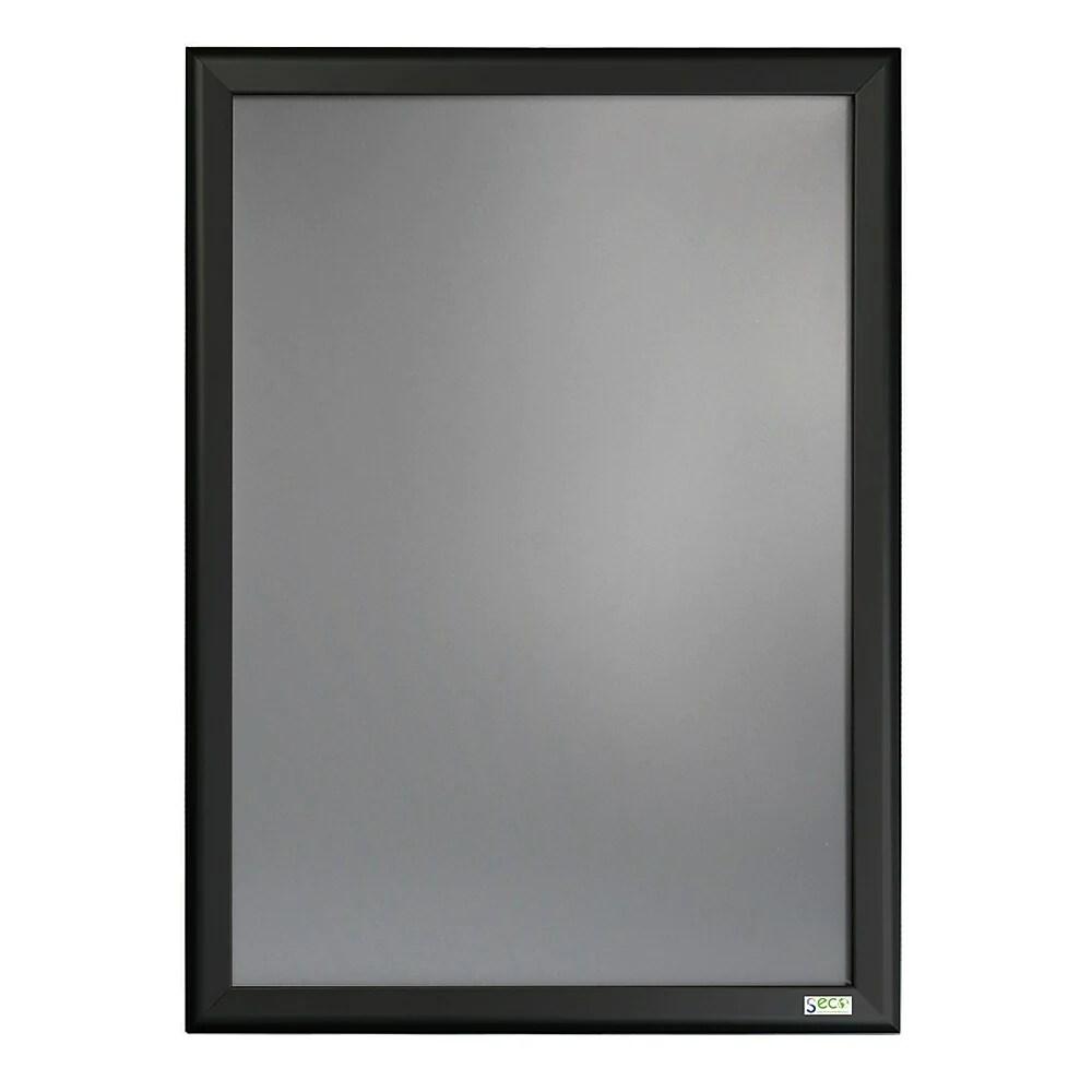 seco snap frame 27 x 40 black
