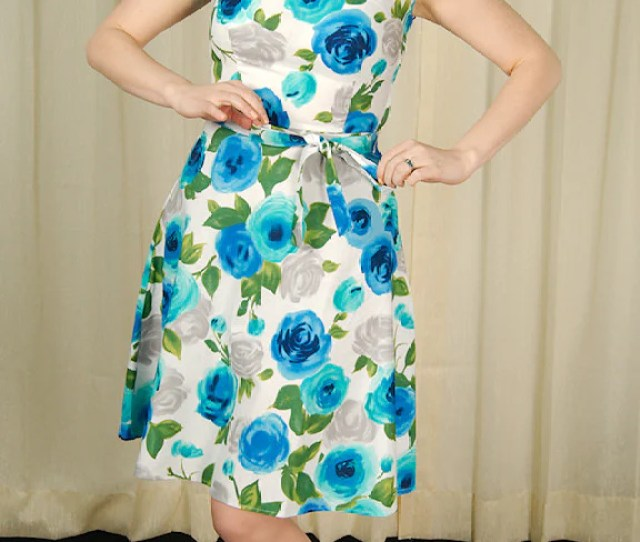 Heart Of Haute Ava Rose Blue Monique Dress For Sale At Cats Like Us