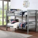 Novaro Grey Wooden Bunk Bed The Uk Seasons