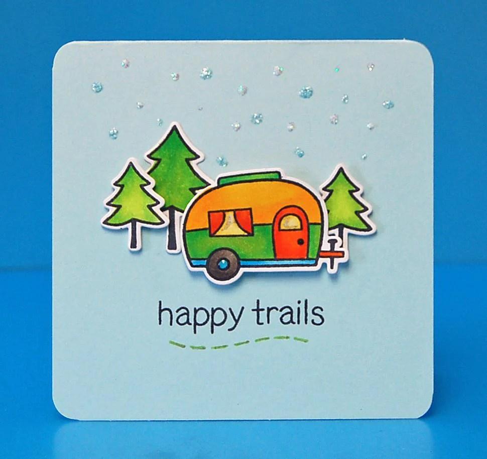 Happy Trails Lawn Fawn