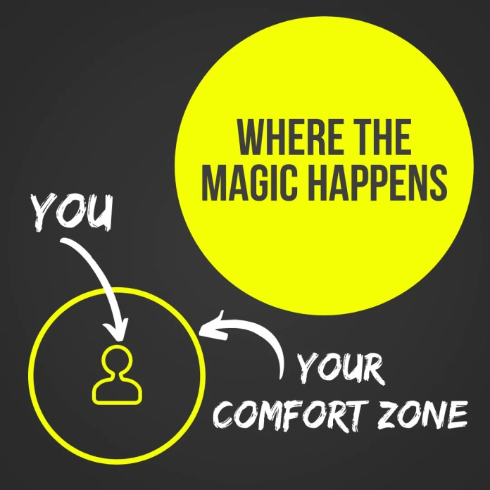 Top 10 Tips To Get Out Of Your Comfort Zone Brain Boosted