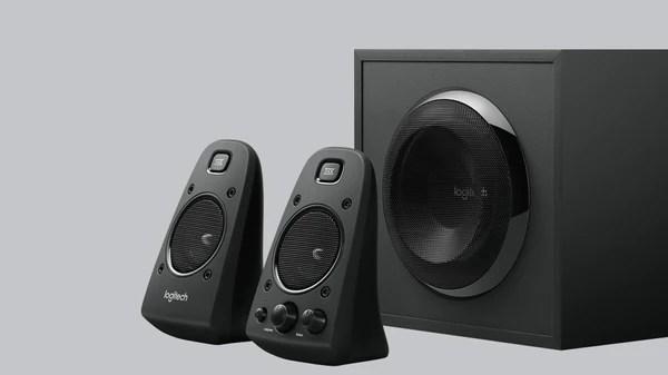 Logitech Z623 2.1 Speaker System with Subwoofer, THX Certified Sound