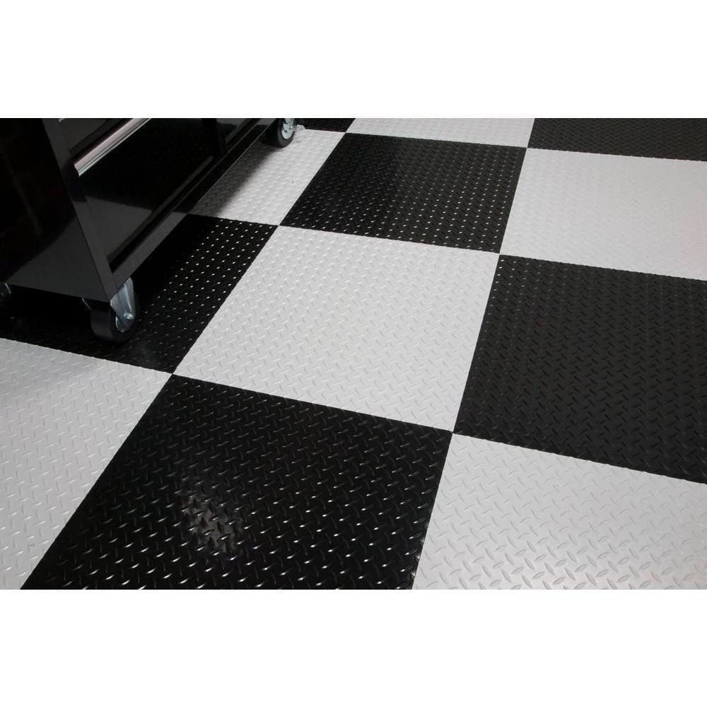 Peel And Stick Tiles Garage Floor Tiles Garage Flooring Canada Mats