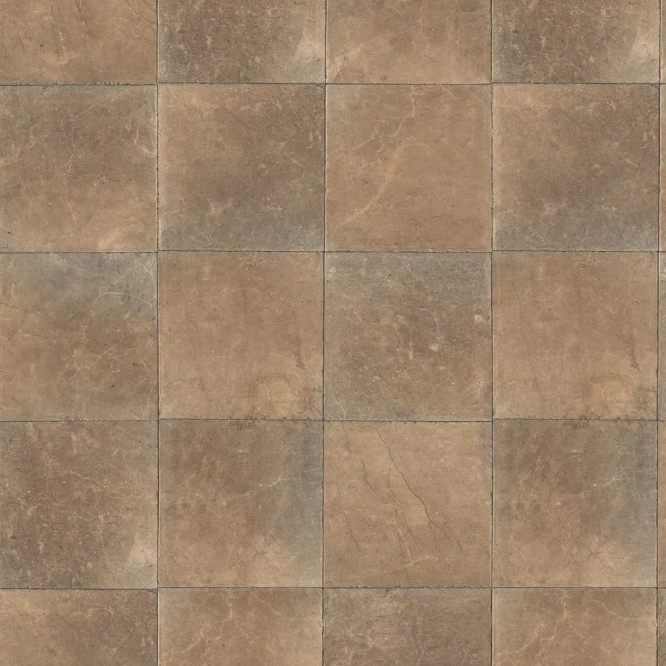 brown square slate tile on air design