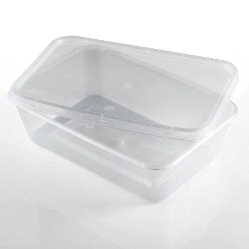 clear plastic container and lid microwave safe