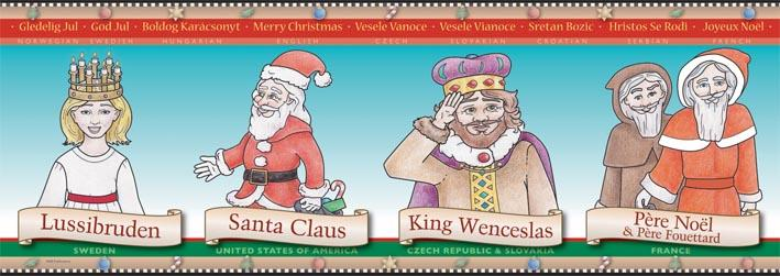 Image result for santa frieze