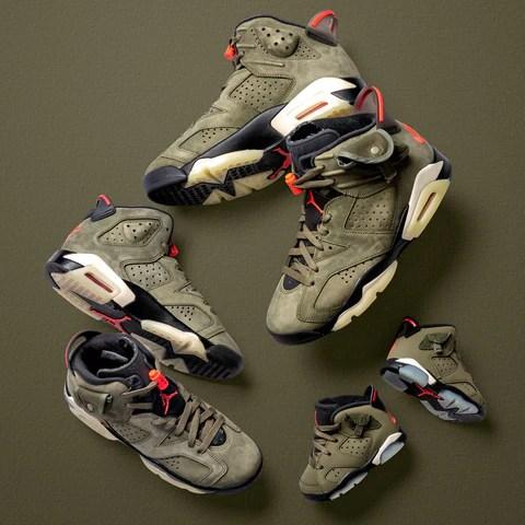 Concepts Nike Air Jordan 6 'Travis Scott'