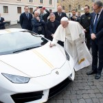 Win A One Of A Kind Pope Lamborghini Car Sweepstakes Omaze