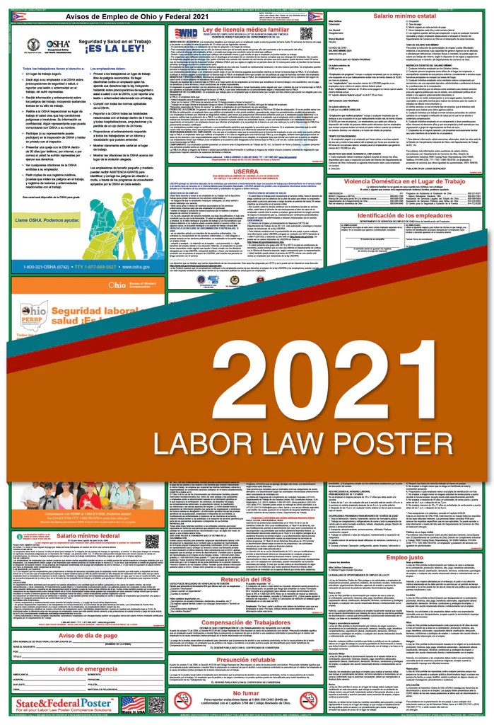 state and federal poster