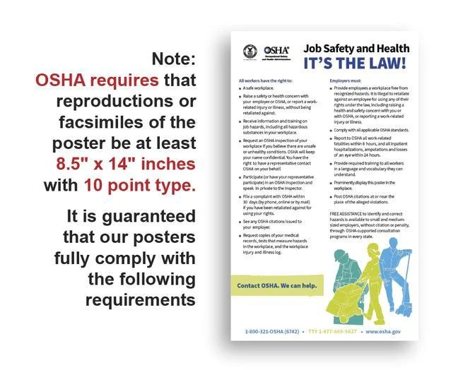 colorado state and federal labor law poster 2021