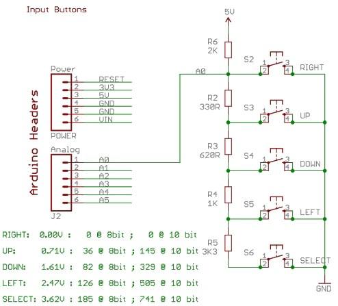 LCD Shield Arduino 11