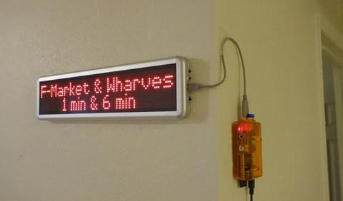 Transit Display