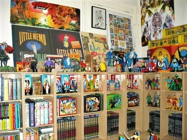comic book room decor