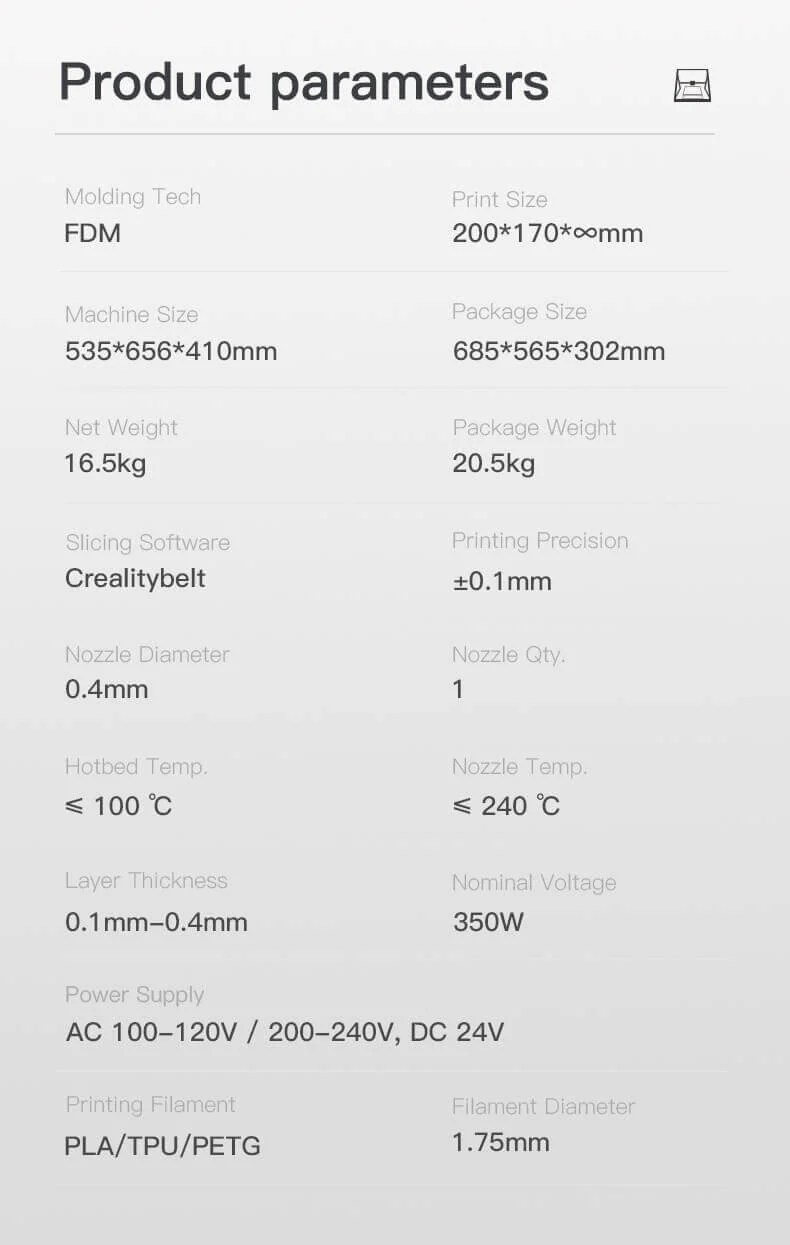 Creality CR-30 3D Yazıcı