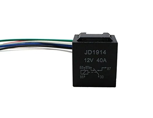 Fog Light Daytime Lamps 5-Pin 12V 40A SPDT Relay Socket