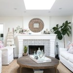 Boost Your Fireplace Surround Real Cement Tiles Vs Creative Diy Idea Quadrostyle