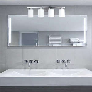 bathroom lighting fixture over mirror bath vanity light e26 interior wall lamp bathroom lights with brushed nickel finish and white frosted glass