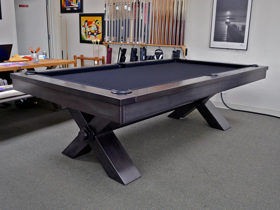 plank and hide vox pool table including installation