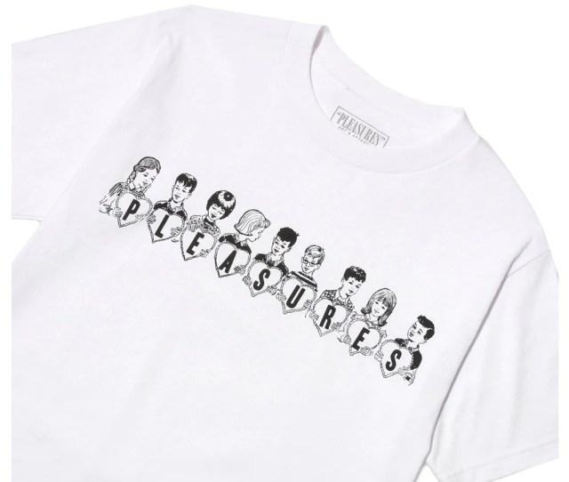 Pleasures Valentine T Shirt White Pleasures Valentine T Shirt White