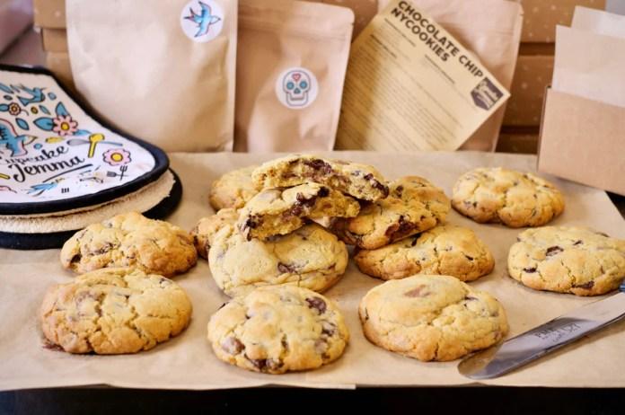 New York Choc Chip Cookies Recipe Cupcake Jemma