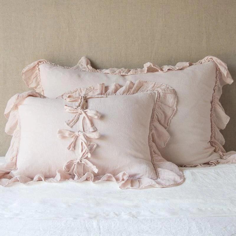 bella notte linens whisper linen pillow sham