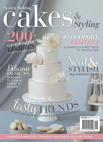 Modern Wedding Cakes Amp Styling Vol 19 Modern Wedding