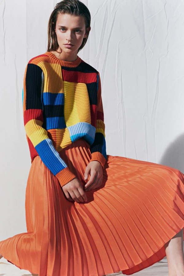 knitGrandeur: Squared Off - Chinti and Parker S/S19