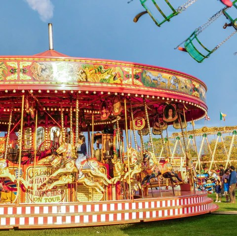 vintage fair - carters steam fair