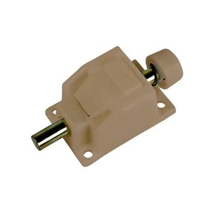truth hardware foot operated patio door lock and keeper coppertone