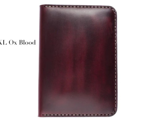 #116 Ox Blood Chromexcel Passport Cover (Horween)