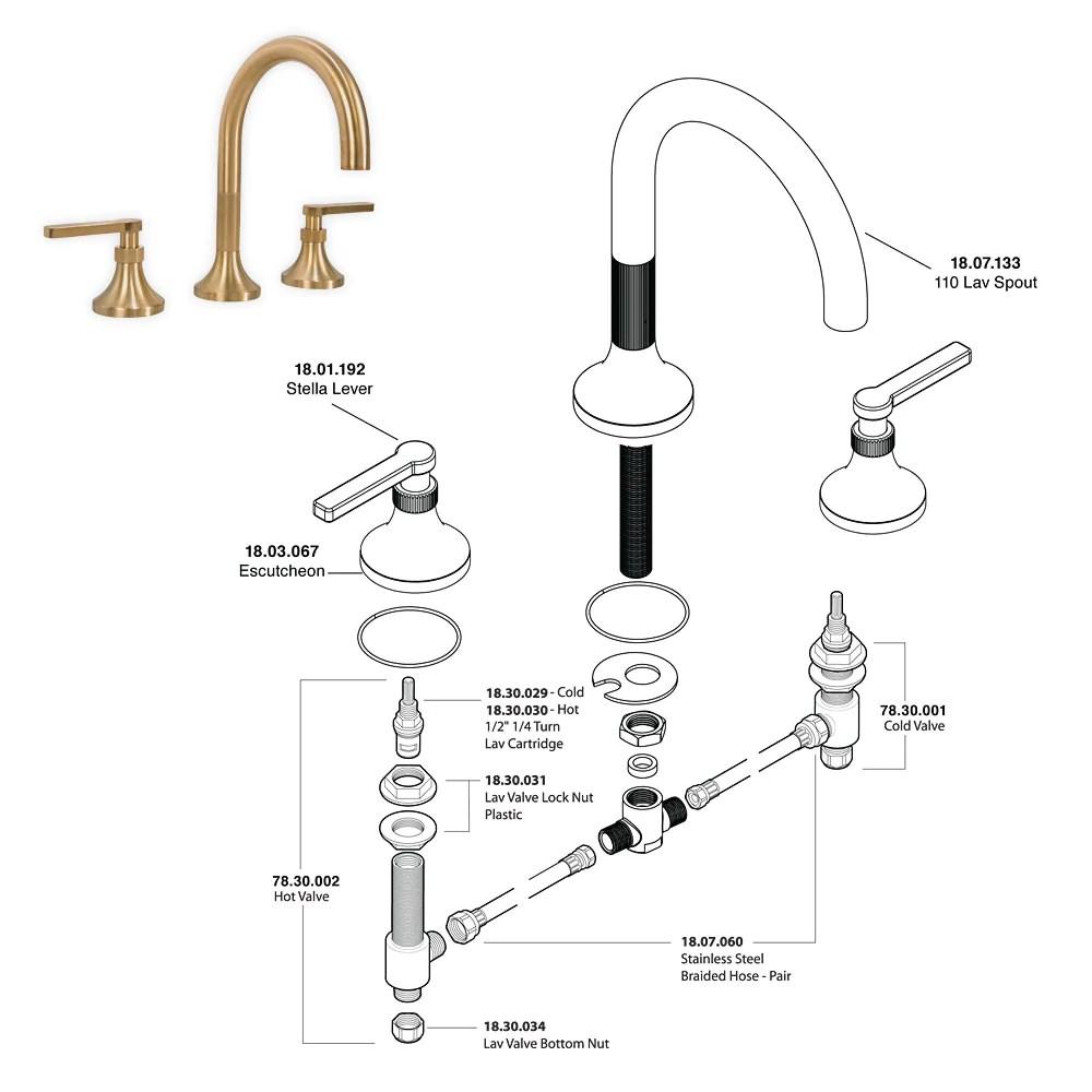 sigma faucet parts and original parts