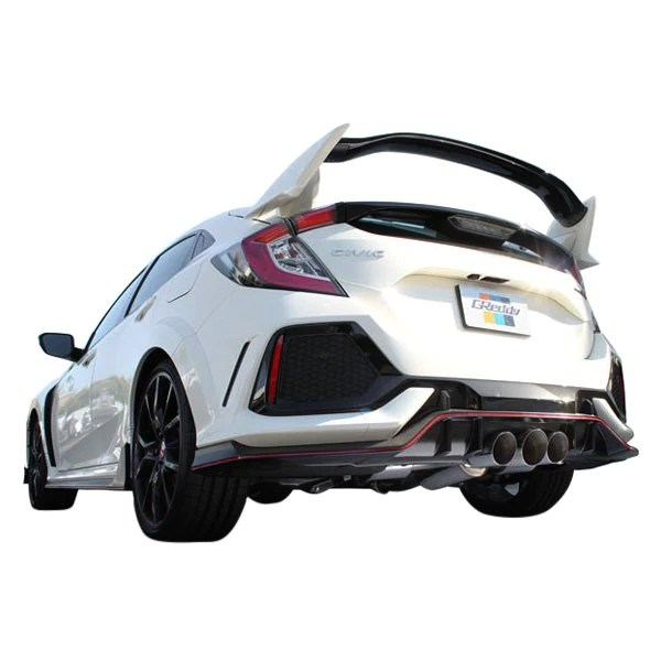 honda civic type r exhausts redline360