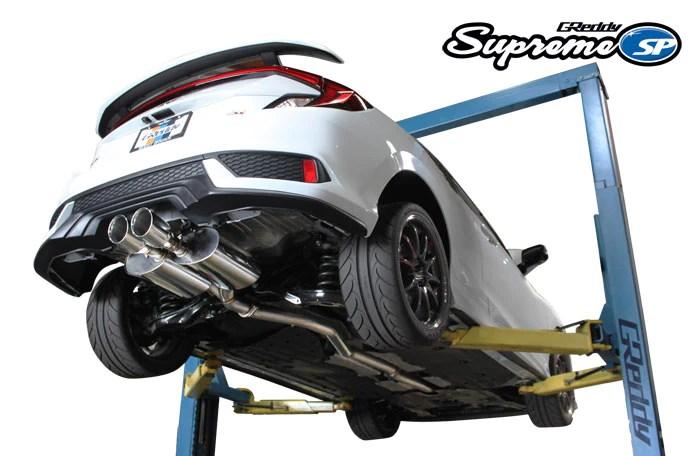 greddy supreme sp exhaust honda civic si coupe 2017 2020 10158216