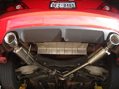 top speed pro 1 exhaust system nissan altima coupe 08 13 dual muffler catback