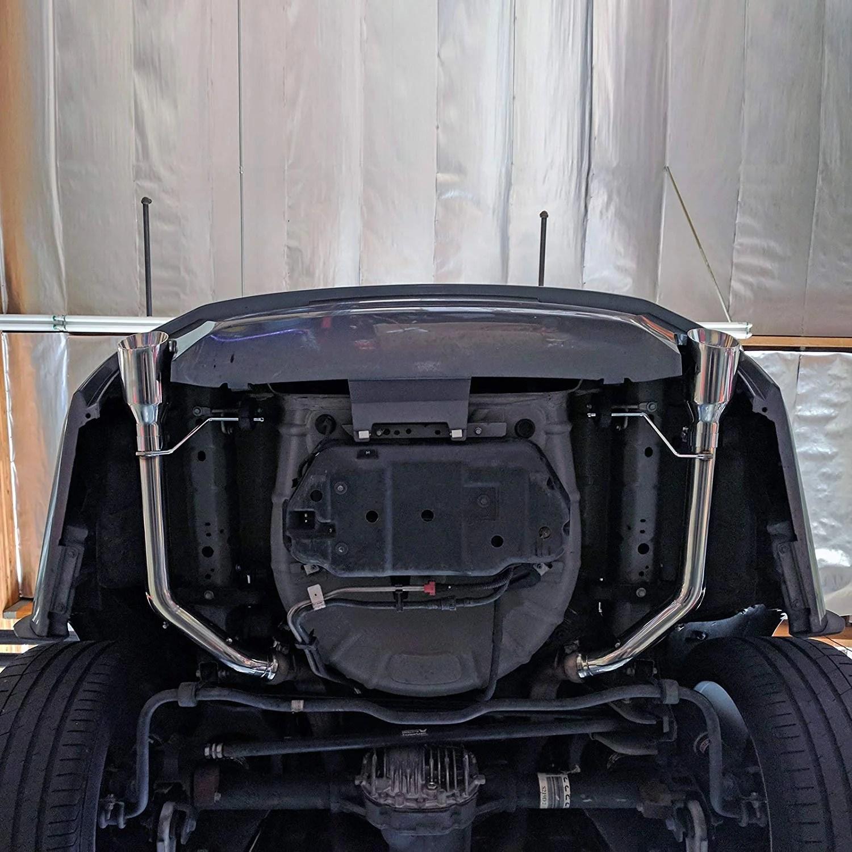rev9 muffler delete exhaust ford