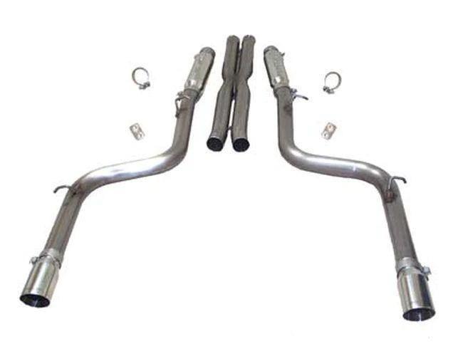 slp catback exhaust dodge charger chrysler 300 srt8 6 1l 6 4l hemi 05 14 loudmouth or loudmouth ii