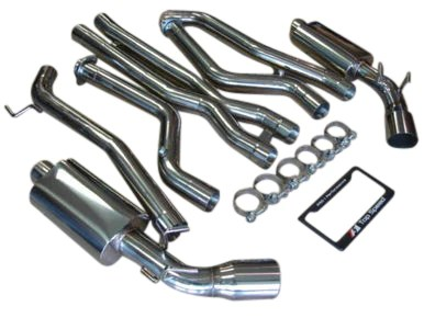 top speed pro 1 exhaust chevy camaro ss 2010 2015 dual 3 piping