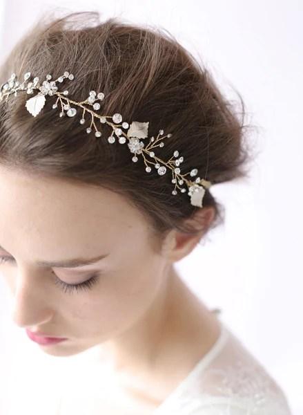 Crystal Sparkle Hair Vine Style 408 Twigs Amp Honey LLC